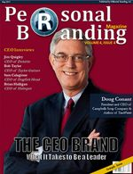 Personal Branding Magazine Cover May 2011