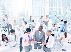 Busy Executive Global Photo